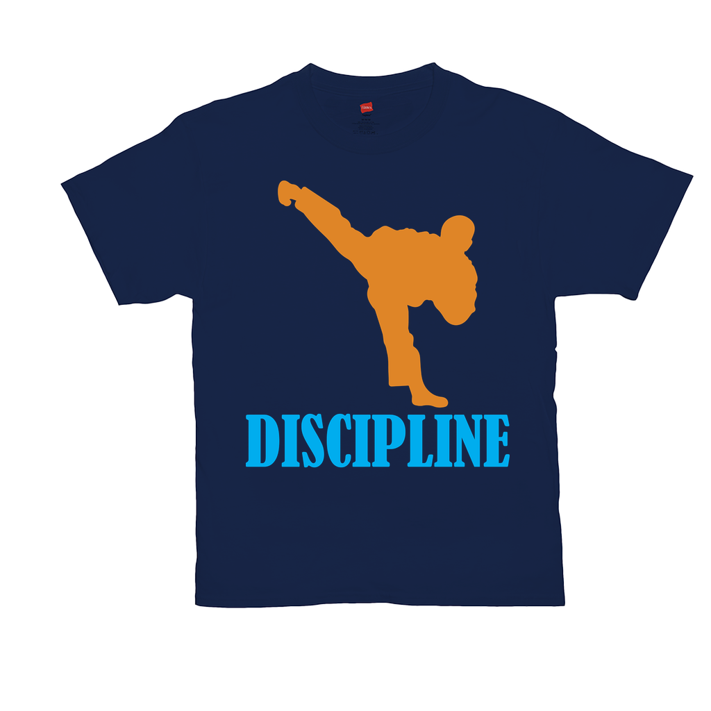 Discipline - Unisex T-Shirts - GN - martial arts, karate, kung fu