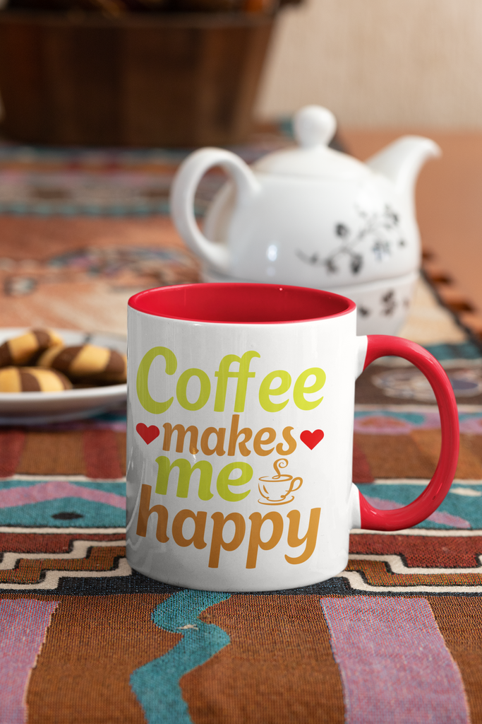Coffee makes me happy - 11 oz. Mug - GN