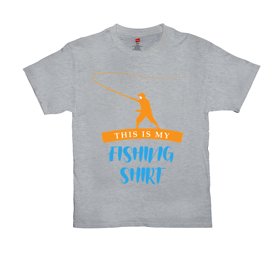 "Unisex T-Shirts - GN - ""This is my fishing shirt"" - fishing, funny t-shirts, funny quotes, funny sayings"