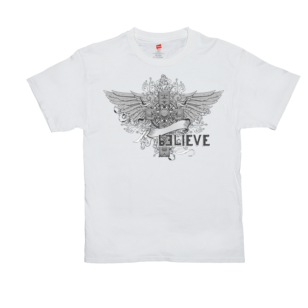 Believe - Unisex T-Shirts - GN - gothic, artisan, graphic