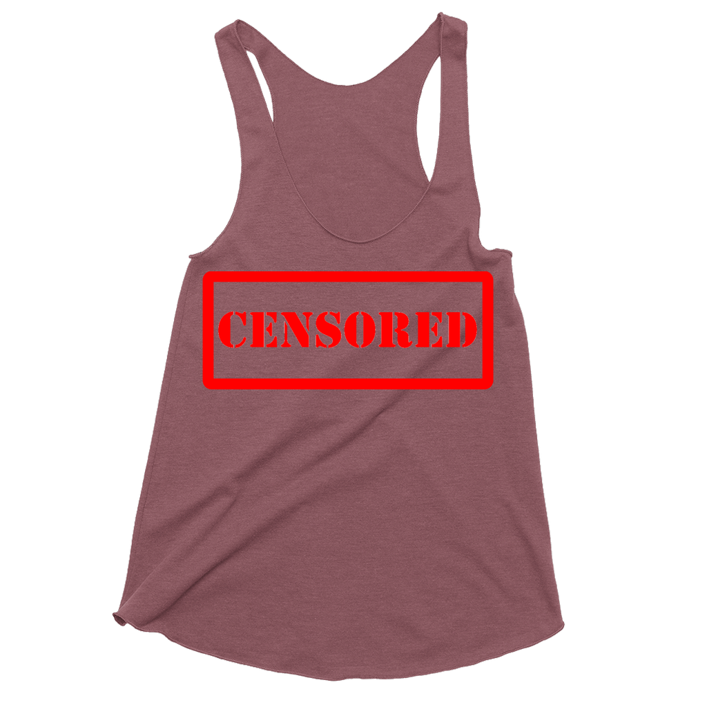 CENSORED - Racerback Tank - GN