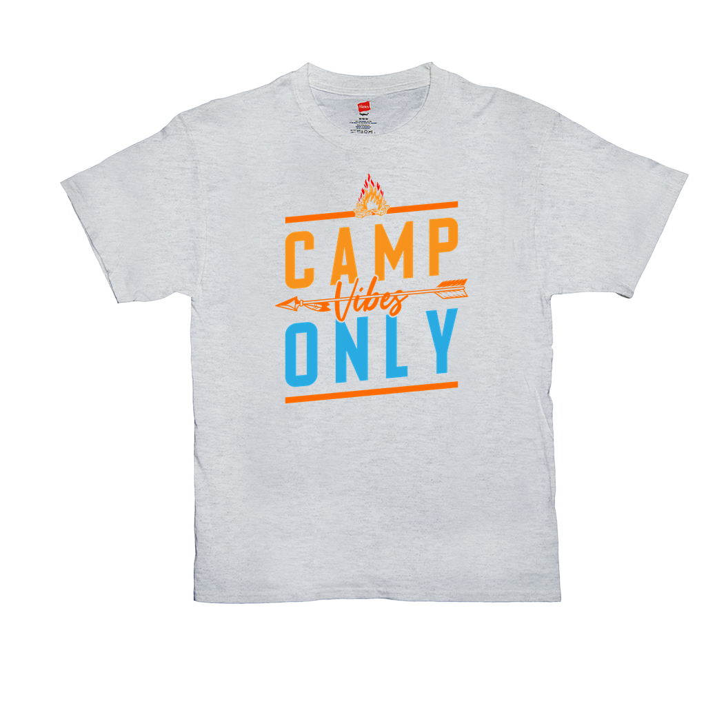 Camping Vibes Only - Unisex  T-Shirts - GN - camping, outdoors, nature, hiking