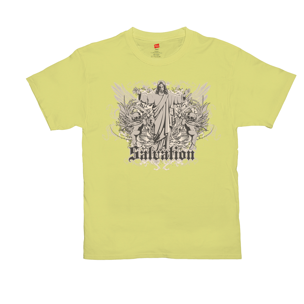 Salvation - Unisex T-Shirts - GN - gothic, artisan, graphic