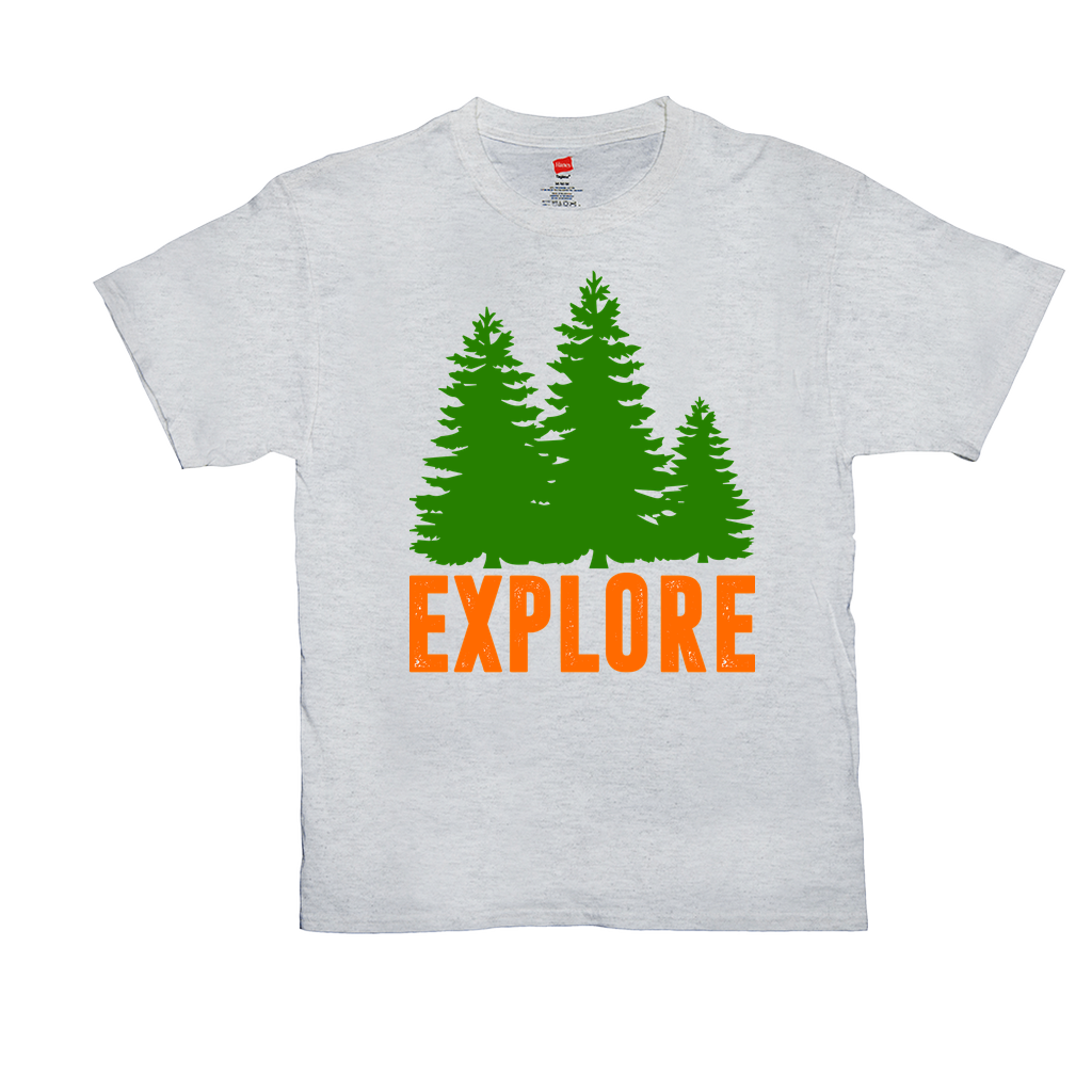 Explore - Unisex T-Shirts - GN - camping, hiking, explore, nature, outdoors