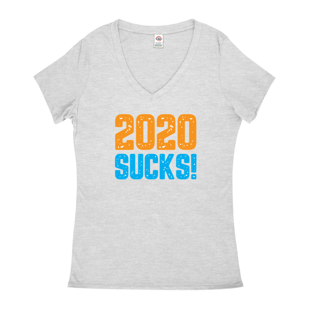 2020 Sucks - V-Necks T-Shirts - GN - funny t-shirts, funny sayings, funny gifts, 2020, humor