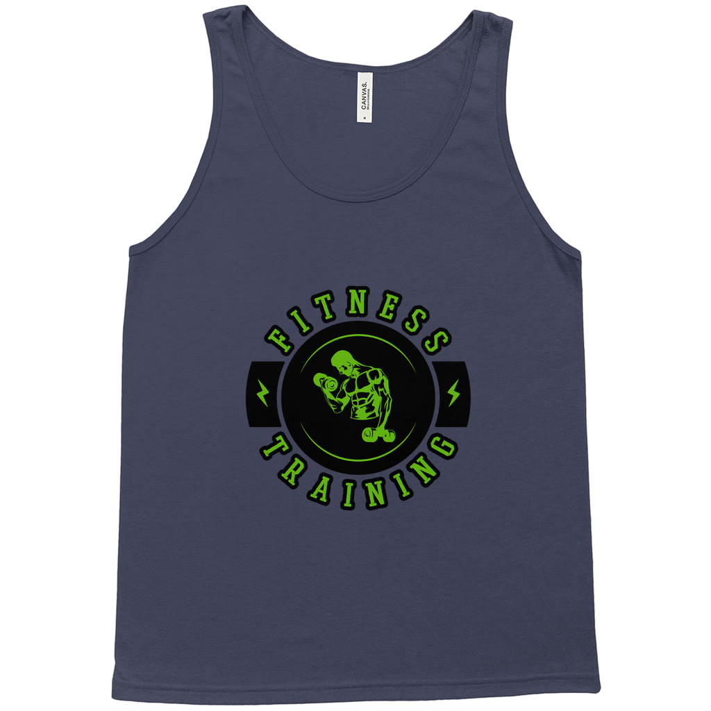 "Tank Tops - GN - ""Fitness Training"" - fitness, workout, exercise, weightlifting, bodybuilding, cross fit"