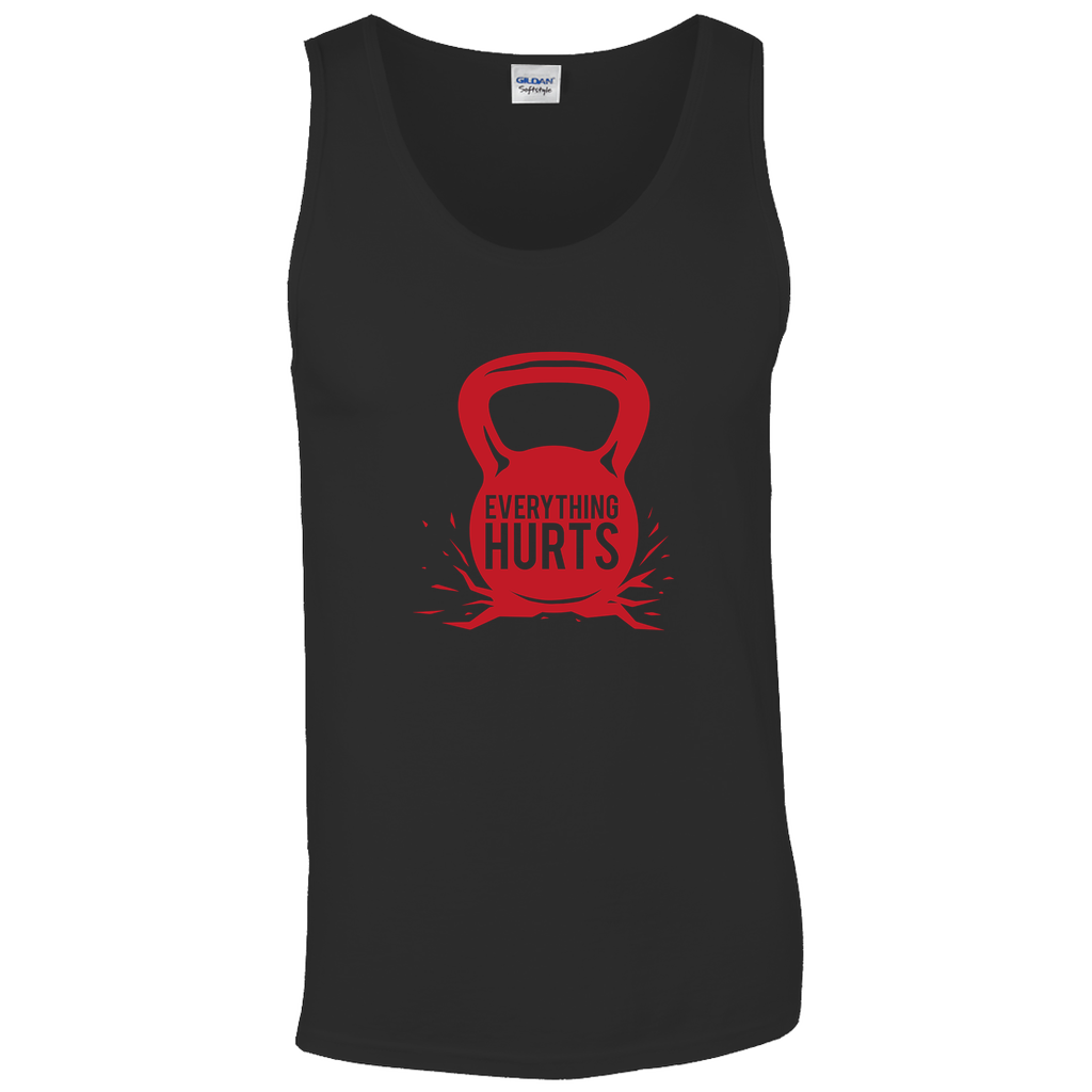 Everything Hurts - Tank Tops - GN -fitness, exercise, workout, weightlifting, bodybuilding, cross fit