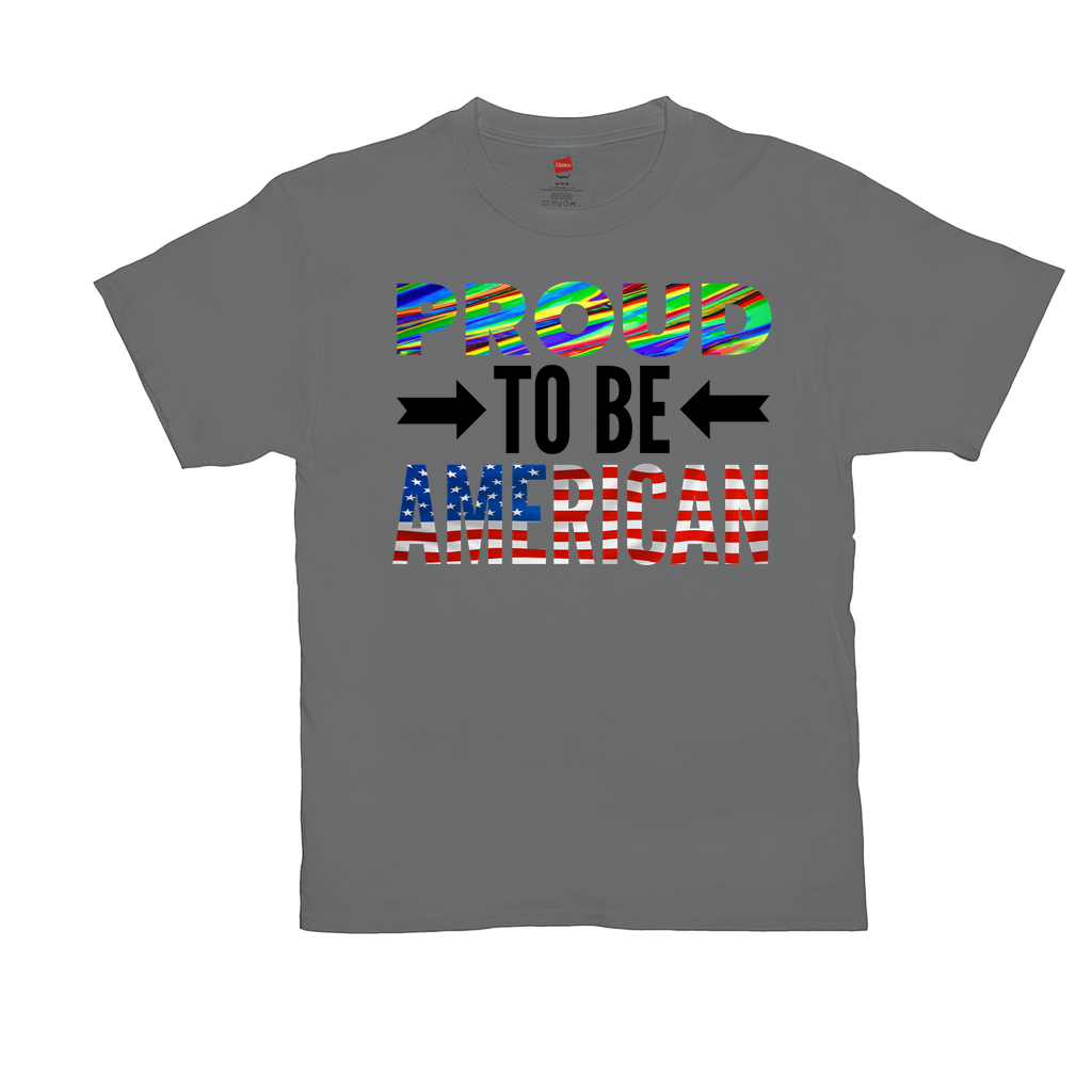 Proud To Be American - Unisex T-Shirts