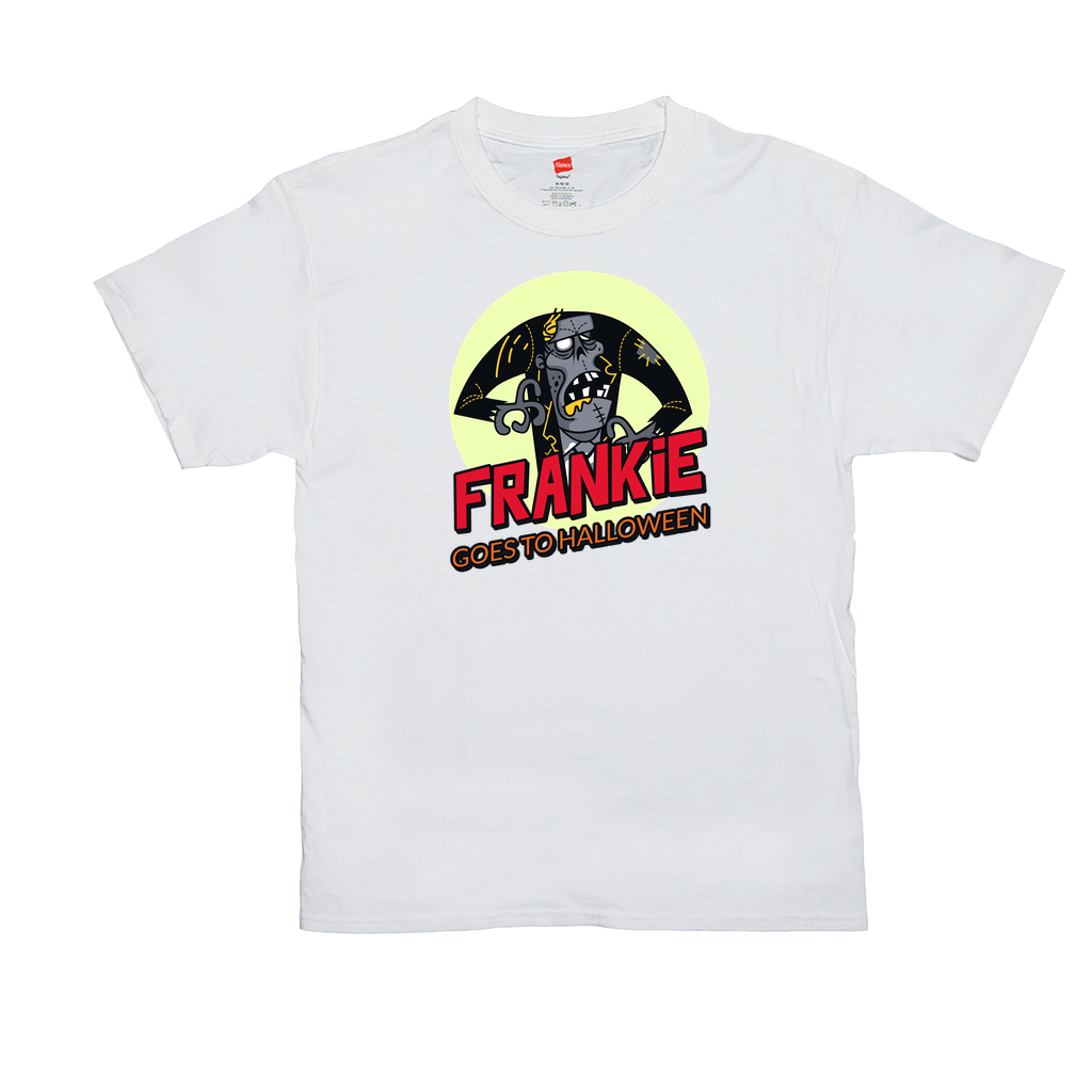 Frankie goes to Halloween - Unisex T-Shirts - GN - funny t-shirt, Halloween