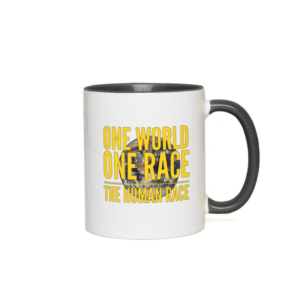 One World, One Race...The Human Race - 11 oz. Mug - GN