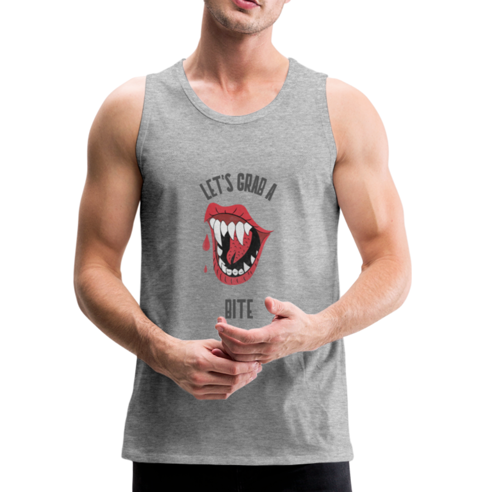 Let's Grab a Bite - SD - Men's Premium Tank