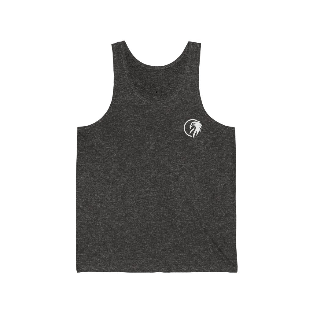 Back at it Jersey Tank Top - Higher Up Athletics