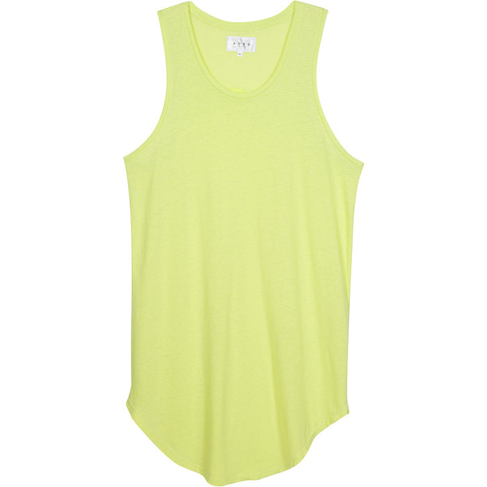ADBD Extended Layering Tank (Lime)