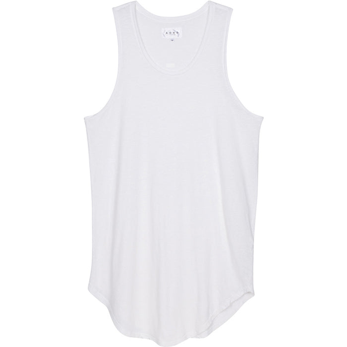 ADBD Extended Layering Tank (White)