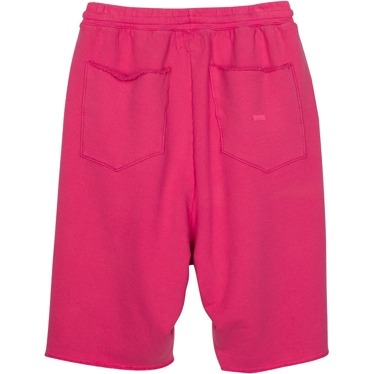 ADBD Extended Drop Crotch Loop Terry Shorts (Cherry)