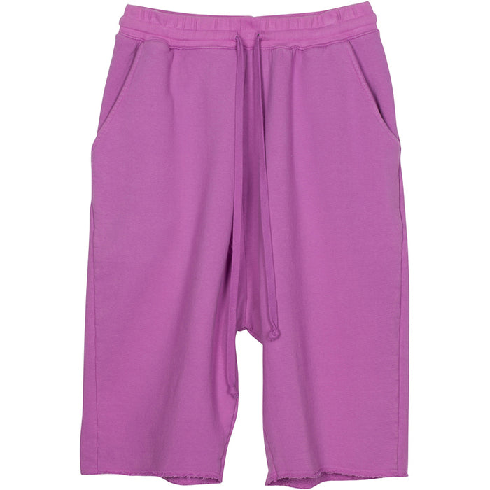 ADBD Extended Drop Crotch Loop Terry Shorts (Lavender)