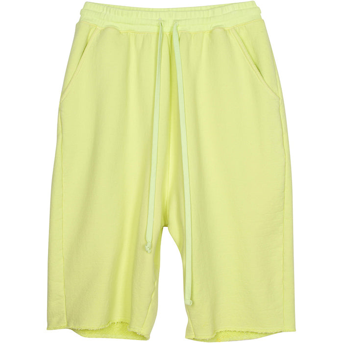 ADBD Extended Drop Crotch Loop Terry Shorts (Lime)