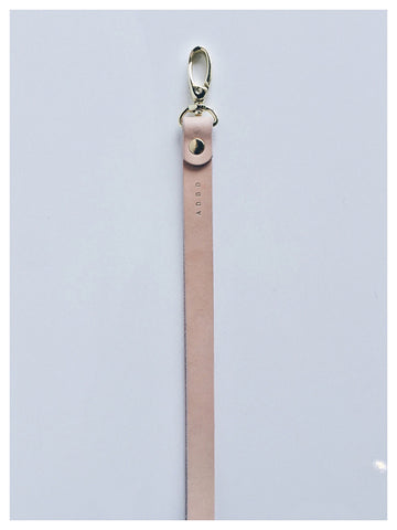 ADBD Leather Lanyard (Natural)