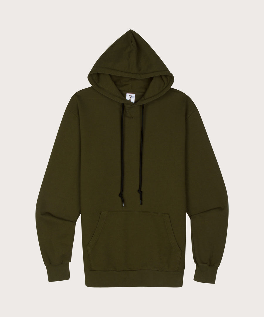 ADBD Pullover Hoodie - Army Green