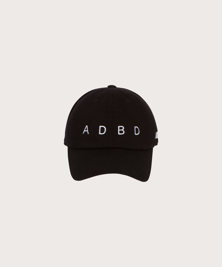 ADBD Relaxed Cap - Black