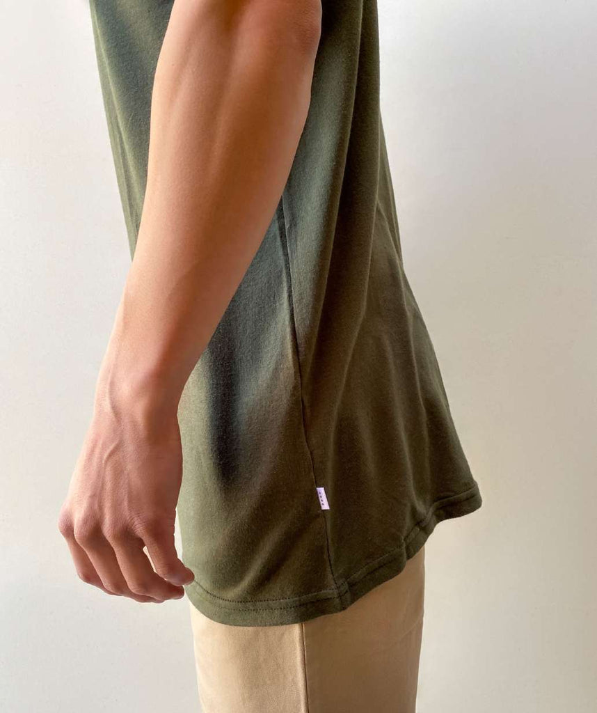 ADBD Short Sleeve Tee - Army Green