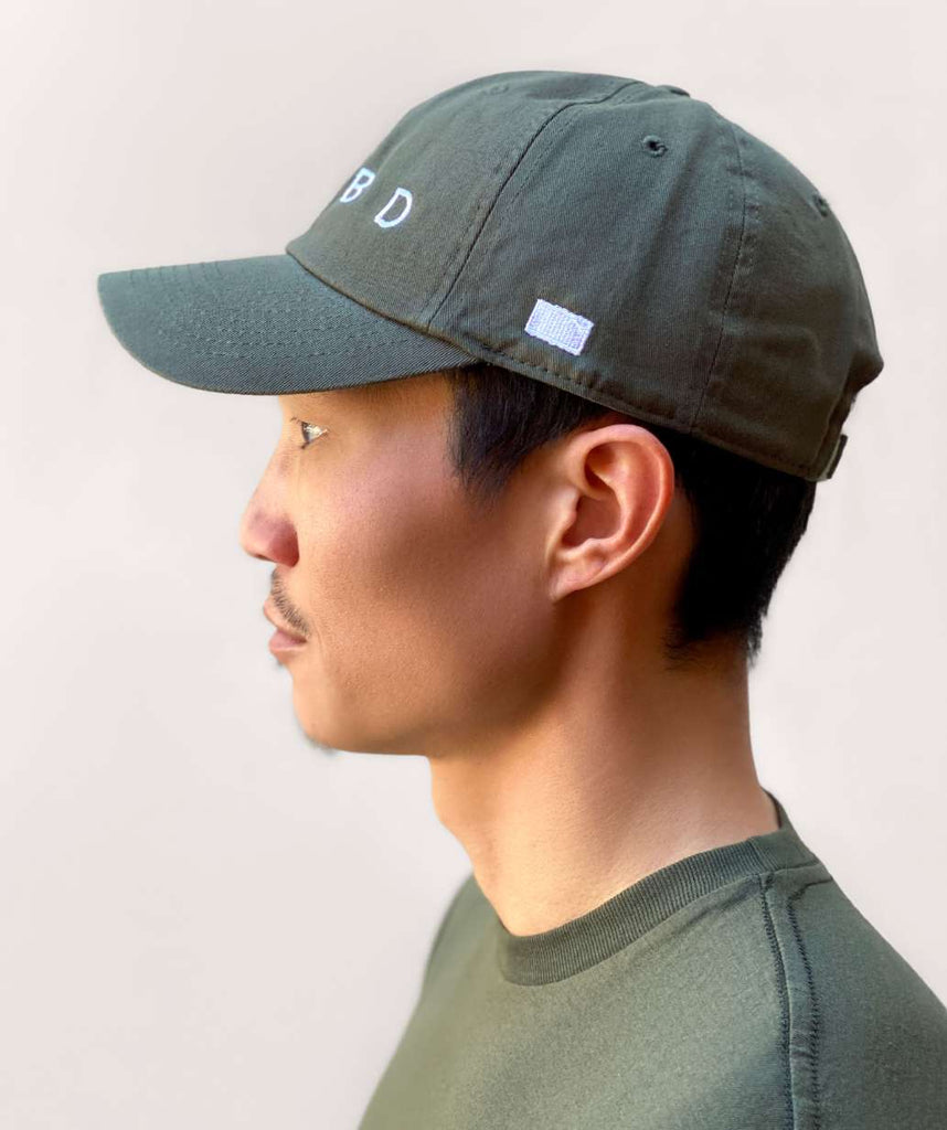 ADBD Relaxed Cap - Army Green