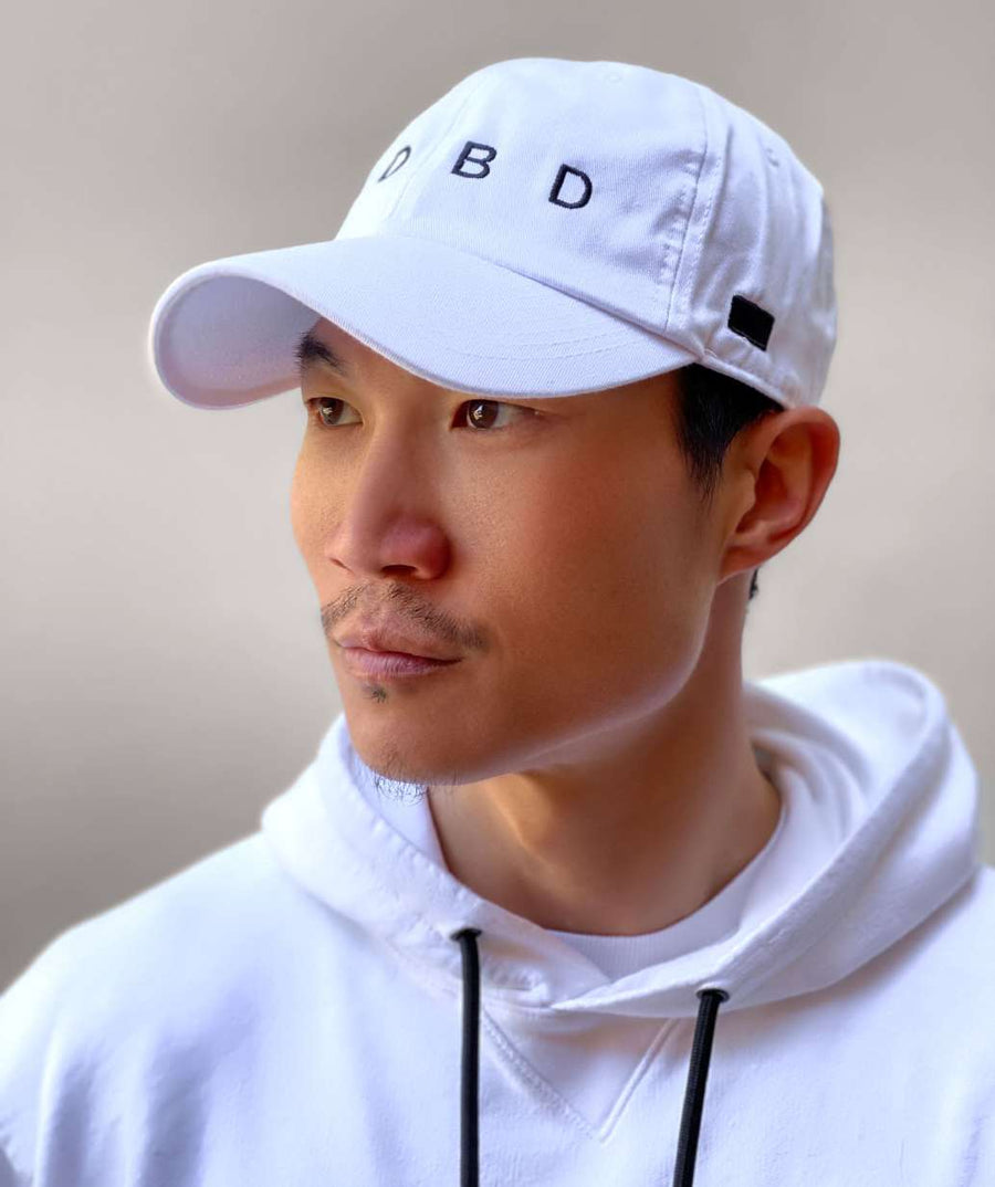ADBD Relaxed Cap - White