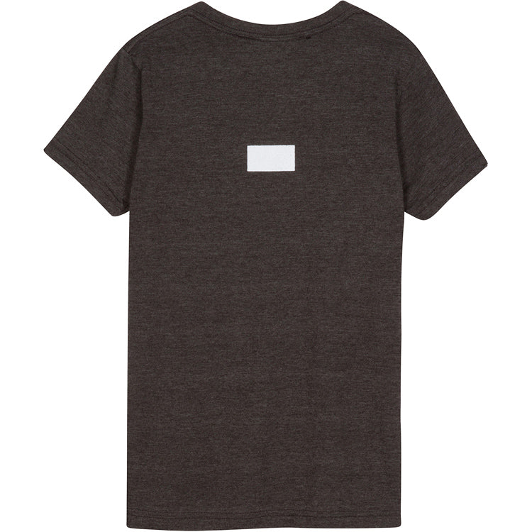 Curved A.D.B.D. Kids Tee (Charcoal)
