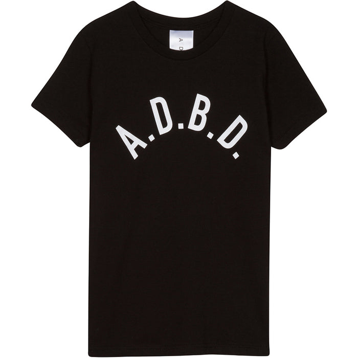 Curved A.D.B.D. Kids Tee (Black)