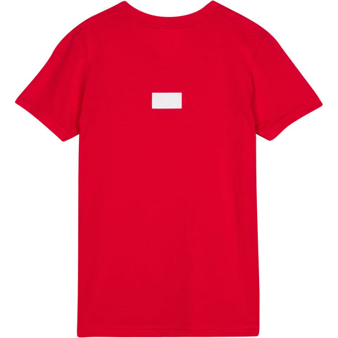 Curved A.D.B.D. Kids Tee (Red)