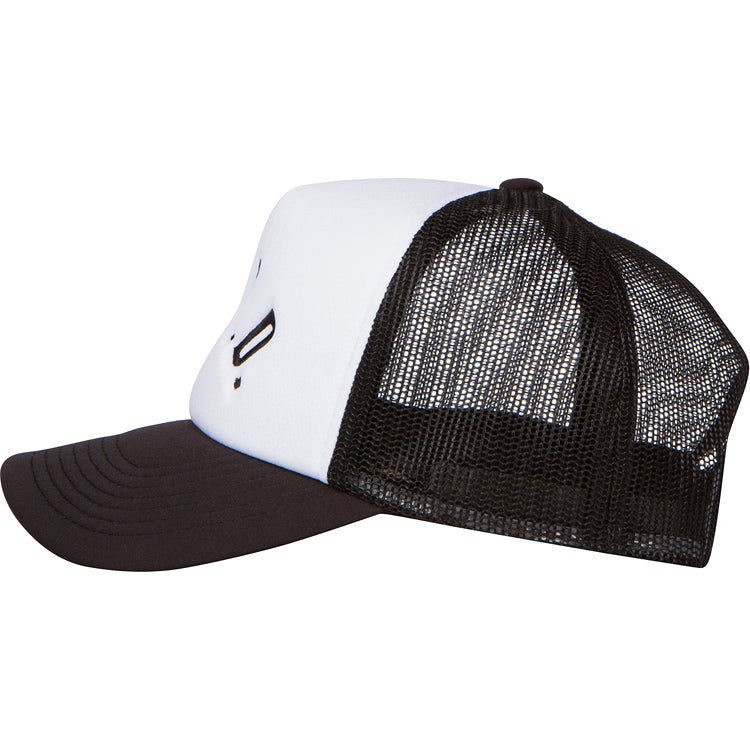 Curved A.D.B.D. Trucker Cap (Black)