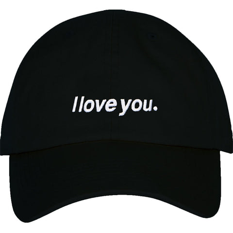 "ADBD ""I love you."" Low Profile Cap (Black)"