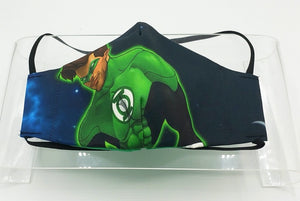 Green Lantern Face Mask by Roberth Fearon