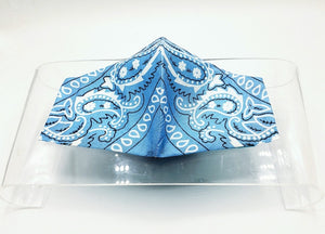 Light Blue Hanky Mask