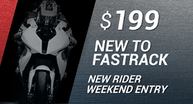New To Fastrack - Sat or Sun Rider