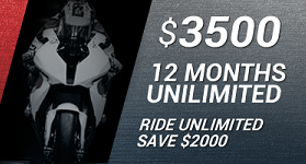 12 Months Unlimited Riding