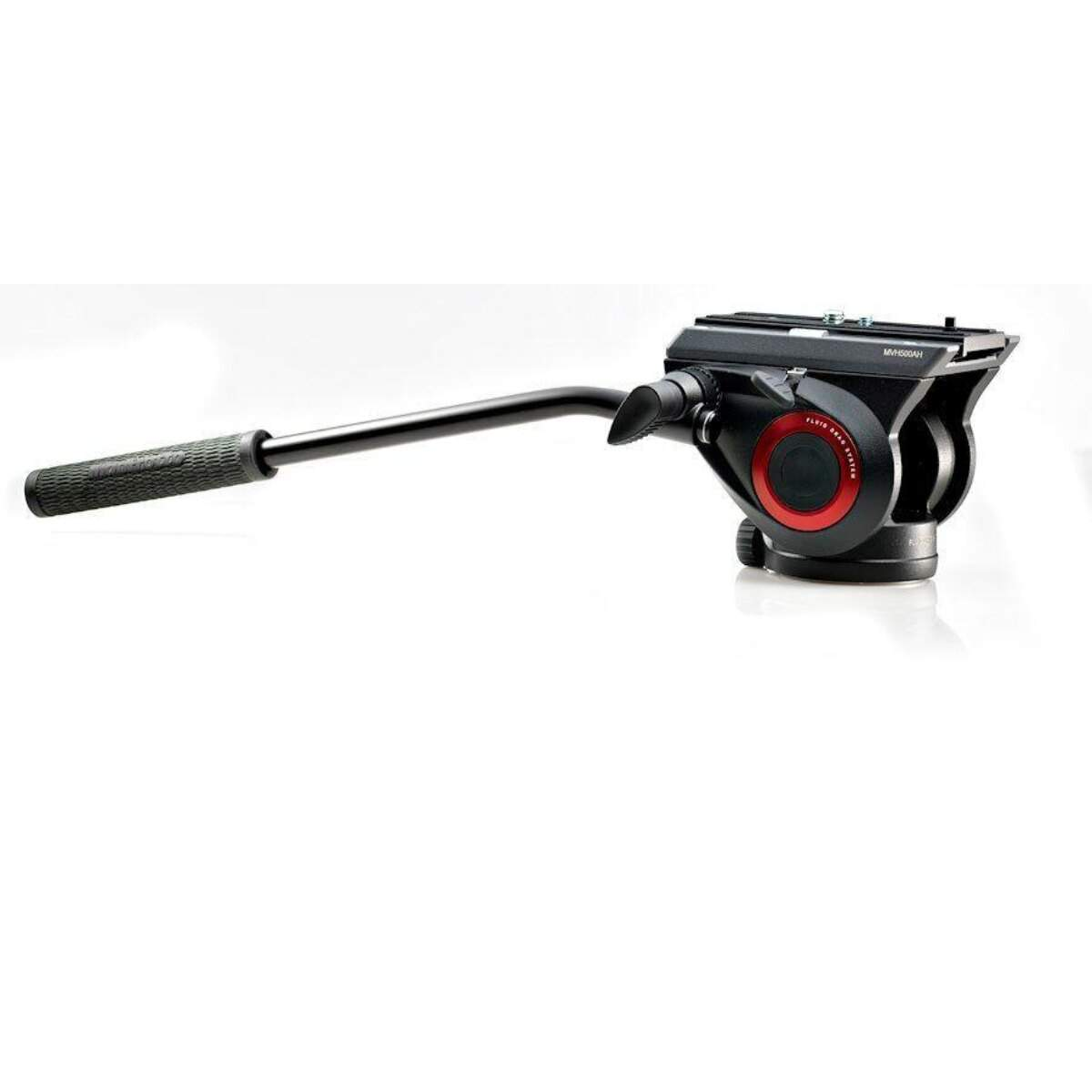 Manfrotto Cabezal de video fluido 500 con base plana