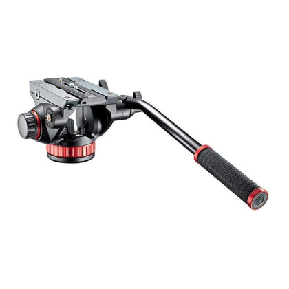 Cabezal de video fluido 502 con base plana manfrotto
