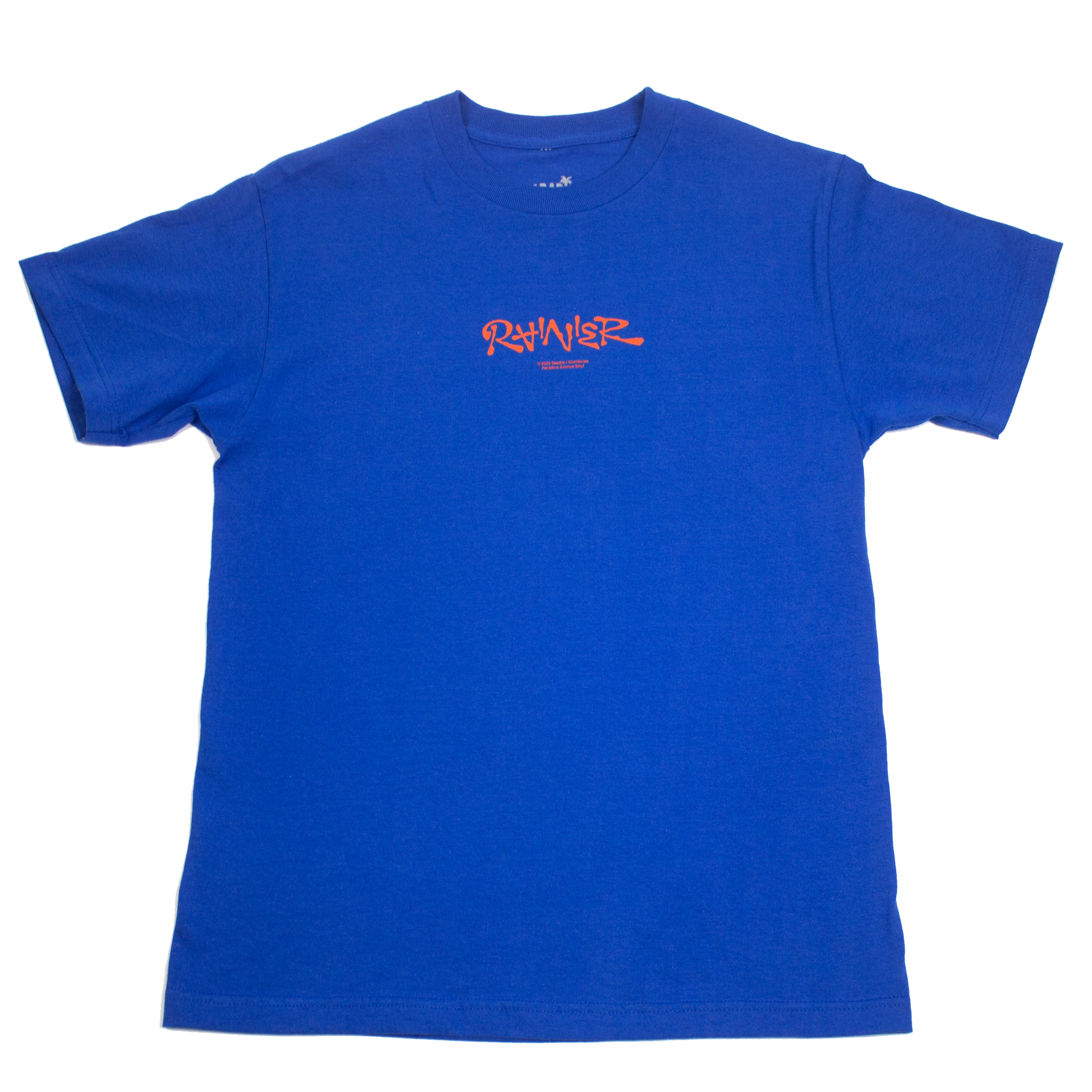 Rainier Tee (RB Blue & Orange)