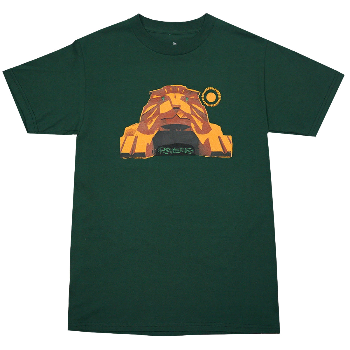 Reverie Lion Tee (Hunter Green)
