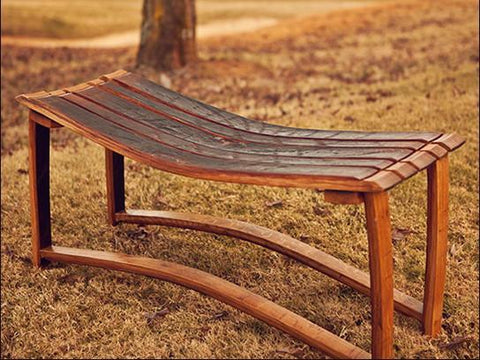 Classic Whiskey Bench