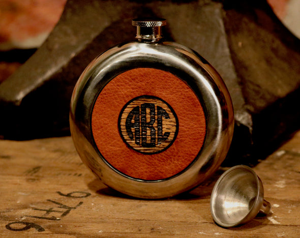 Buffalo Soldier Flask