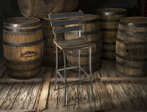 Whiskey Wood High Top Chair