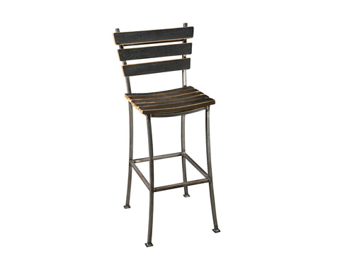 Whiskey Wood High Top Stool