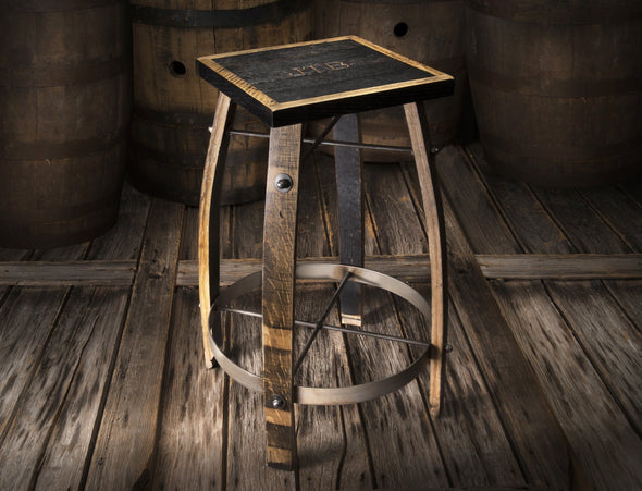 Whiskey Wood Bar Stool