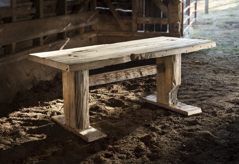 x Barn Wood Farm Table