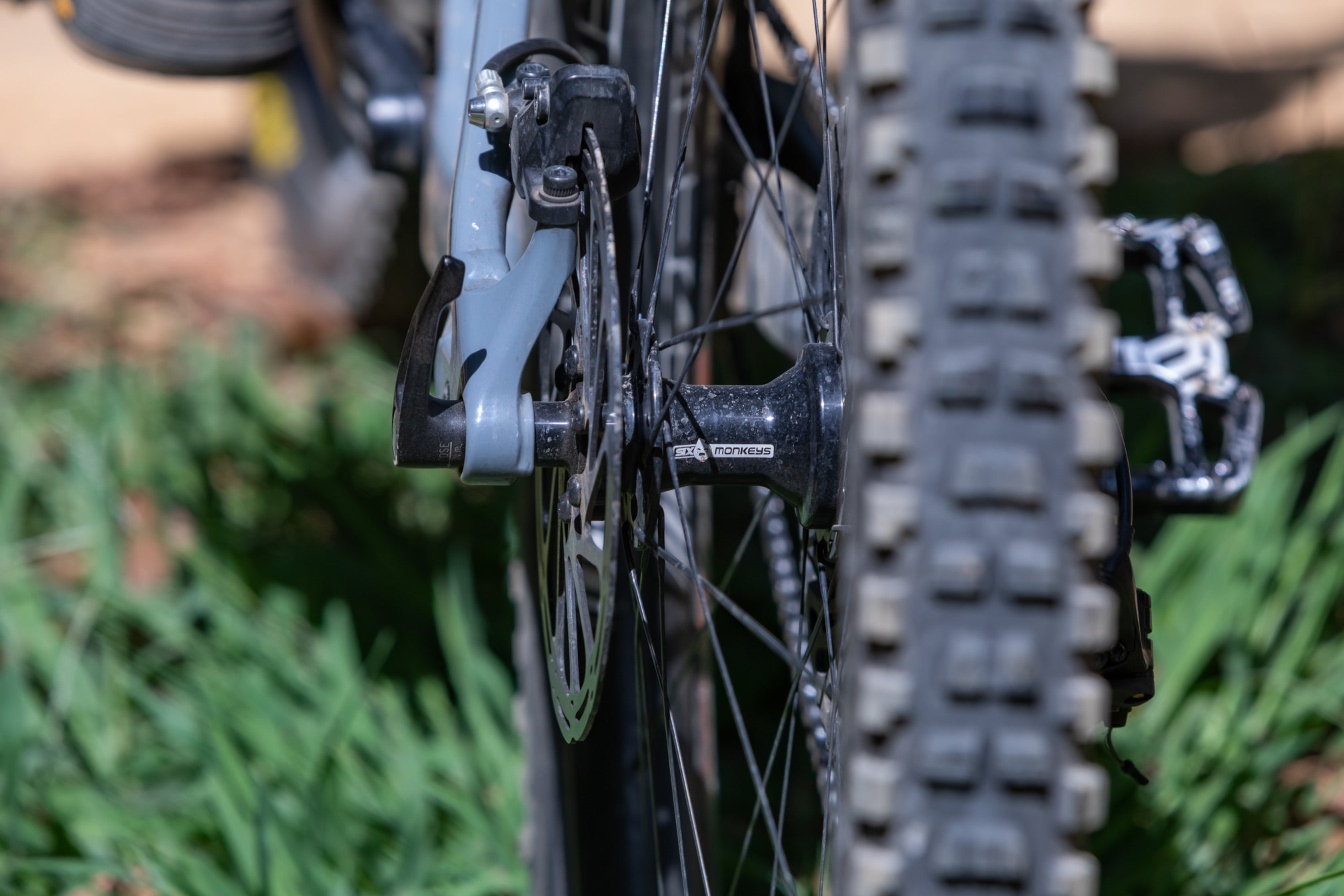 SIX MONKEYS HUB REAR - MTB