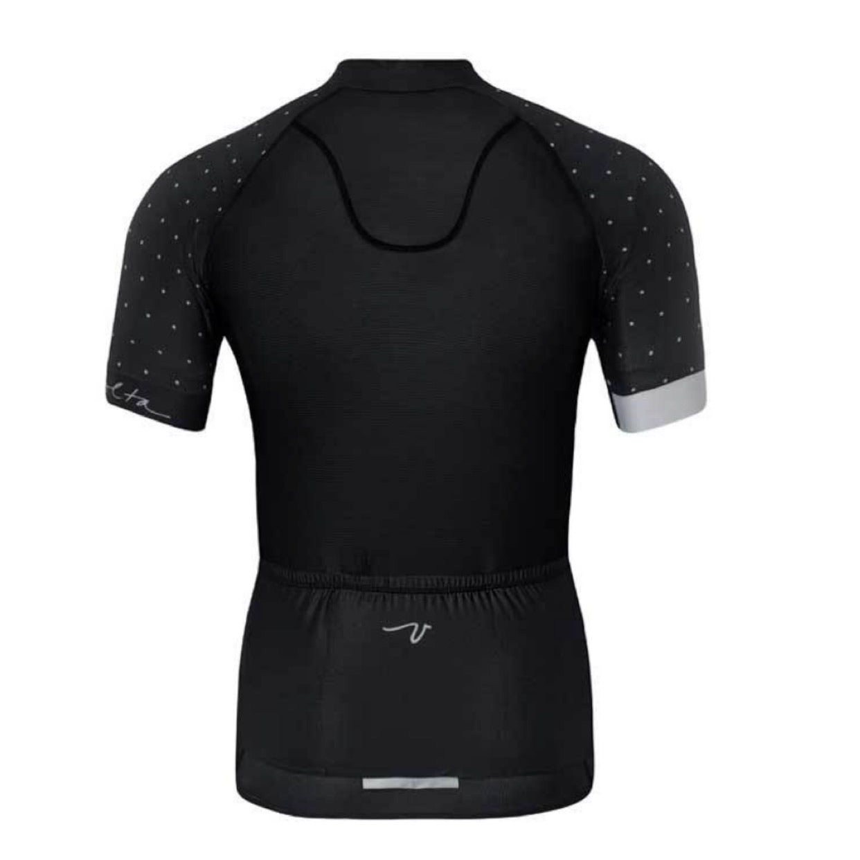 BLACK POLKA DOT MEN'S JERSEY