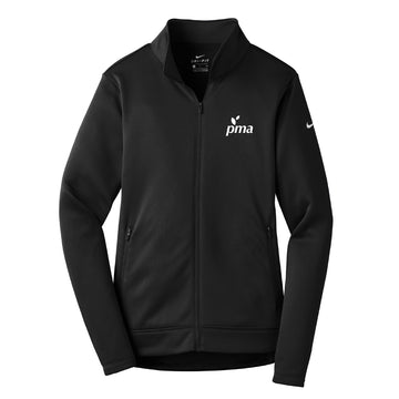 Women's Full Zip Golf Jacket - Black