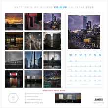 Load image into Gallery viewer, Matt Irwin Melbourne 2020 Colour Calendar